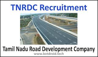 TNRDC Recruitment 2020, TNRDC Jobs 2020, TNRDC Vacancy