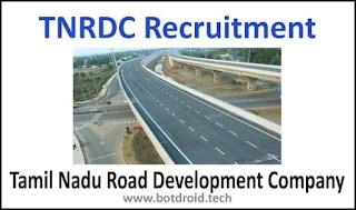 TNRDC Recruitment 2020 - Apply Online 25 Engineer, Supervisor, Manager Vacancies | TNRDC Jobs 2020