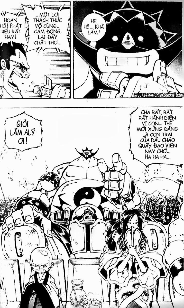 Shaman King [Vua pháp thuật] chap 119 trang 15