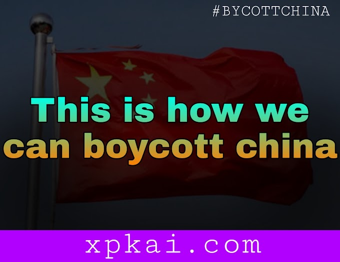 How to bycott china the realistic solution