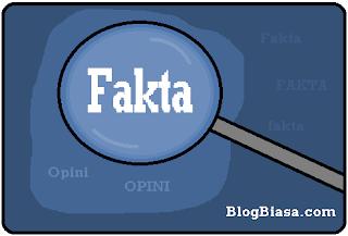 Apa itu fakta dan opini ? pengertian, perbedaan, ciri & contoh lengkap dari fakta dan opini