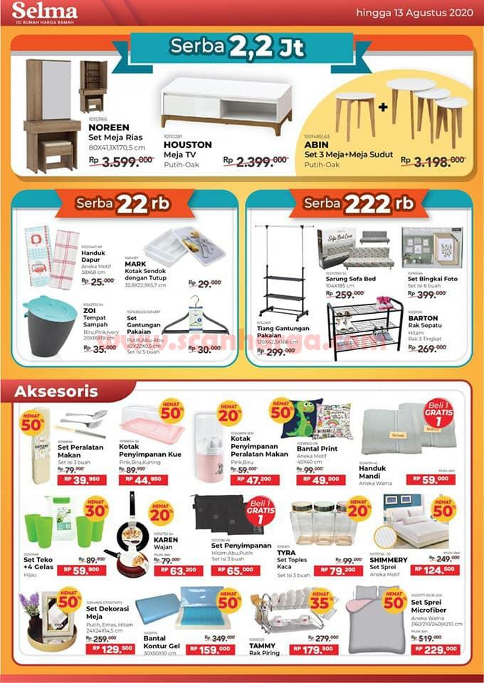Katalog Promo SELMA Furniture Terbaru Juni Juli Agustus 2020 5