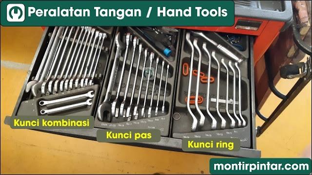 Macam-macam peralatan tangan