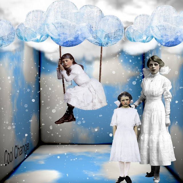 The Three Muses Challenge - BLUE AND WHITE
