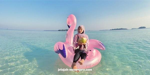 destinasi wisata private trip pulau harapan