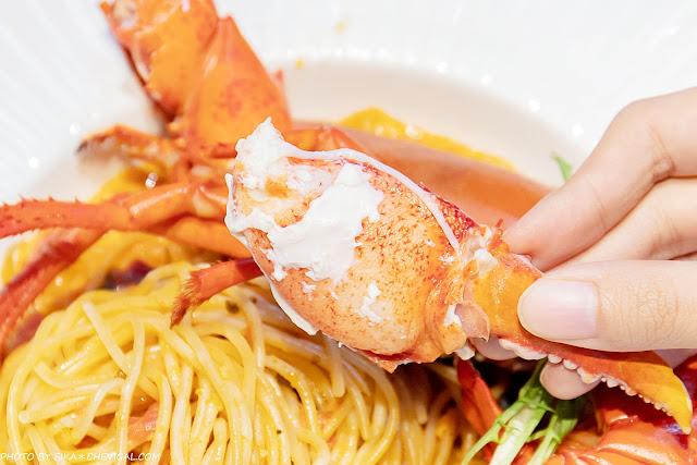 MG 7806 - 熱血採訪│水相餐廳,台中浪漫水岸用餐好迷人,超狂龍蝦義大利麵霸氣吸睛,當月壽星還有免費蛋糕