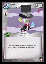 My Little Pony Spike, To the Nines Equestrian Odysseys CCG Card
