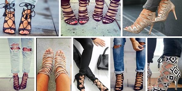 90de2f53ad6 Τα lace up παπούτσια είναι η απόλυτη τάση για αυτή την άνοιξη και το  καλοκαίρι. Κατά τη διάρκεια των τελευταίων σεζόν, τα lace up παπούτσια,  αυτά δηλαδή με ...