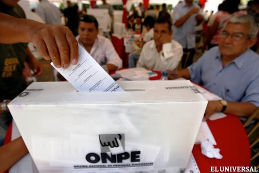 Resultados de las Elecciones en Perú: ¿Quién es el Nuevo Presidente del Perú. Quién ganó en Primera Vuelta y quienes van a la Segunda vuelta en las Elecciones para Presidente. Domingo 10 de abril del 2016