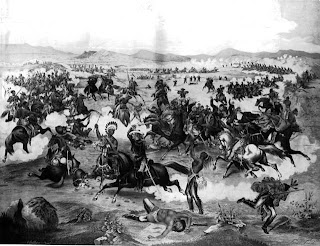 battle of the little bighorn image