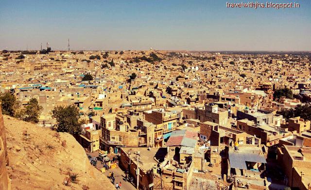 view of jaisalmer city