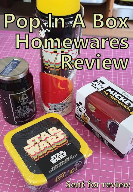 Funko Pop! Homewares review water bottles nesting boxes kitchen timer