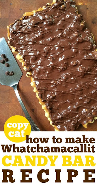 How to make Whatchamacallit Candy Bars at Home