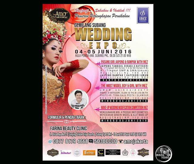 """Gemilang Subang 2016 """"WEDDING EXPO"""" With Inez Cosmetics."""