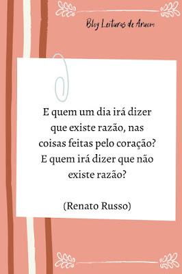 FRASES INTELIGENTES #2 - Renato Russo