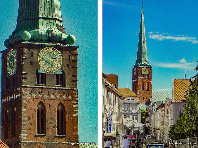 Torre da Igreja de São Tiago, Lübeck, Alemanha