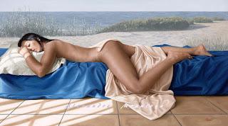 Chicas Desnudas Espalda Oleos