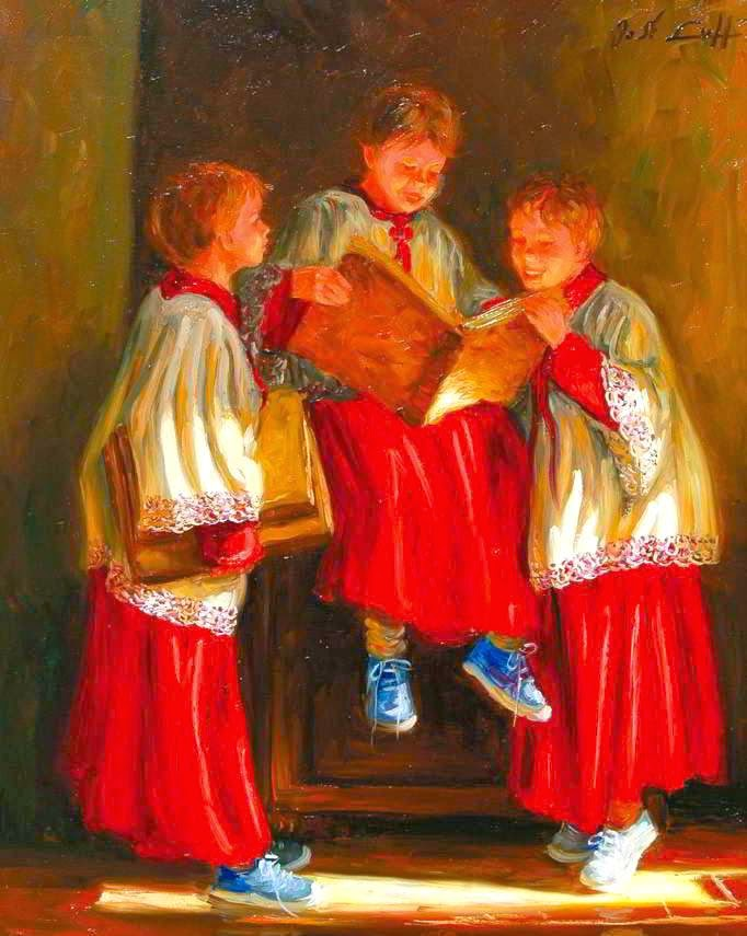 Italian Boy Name: Reading And Art: Jose Lull