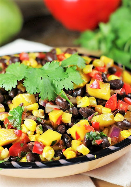 Roasted Corn, Black Bean, & Mango Salsa Image