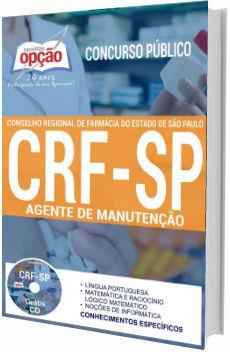 Apostila Concurso CRF-SP 2017 Agente de Manutenção