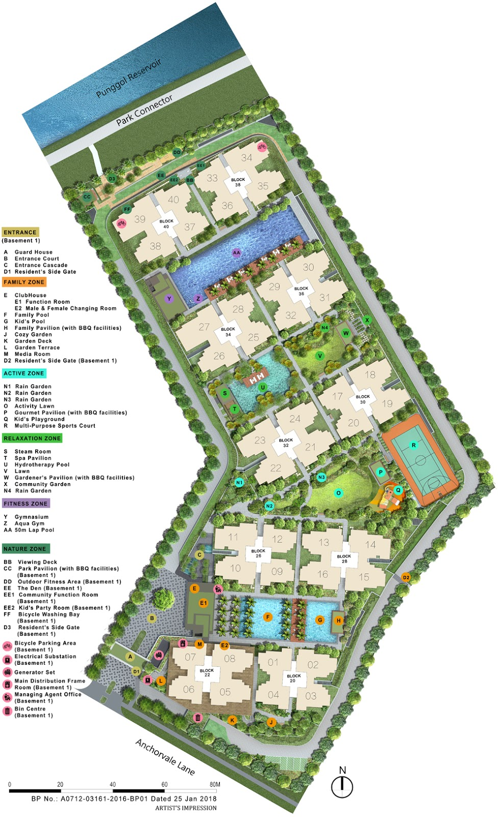 Rivercove Residences Site Plan