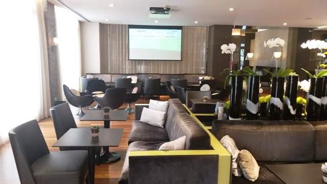Lobby do Hotel Intercontinental São Paulo