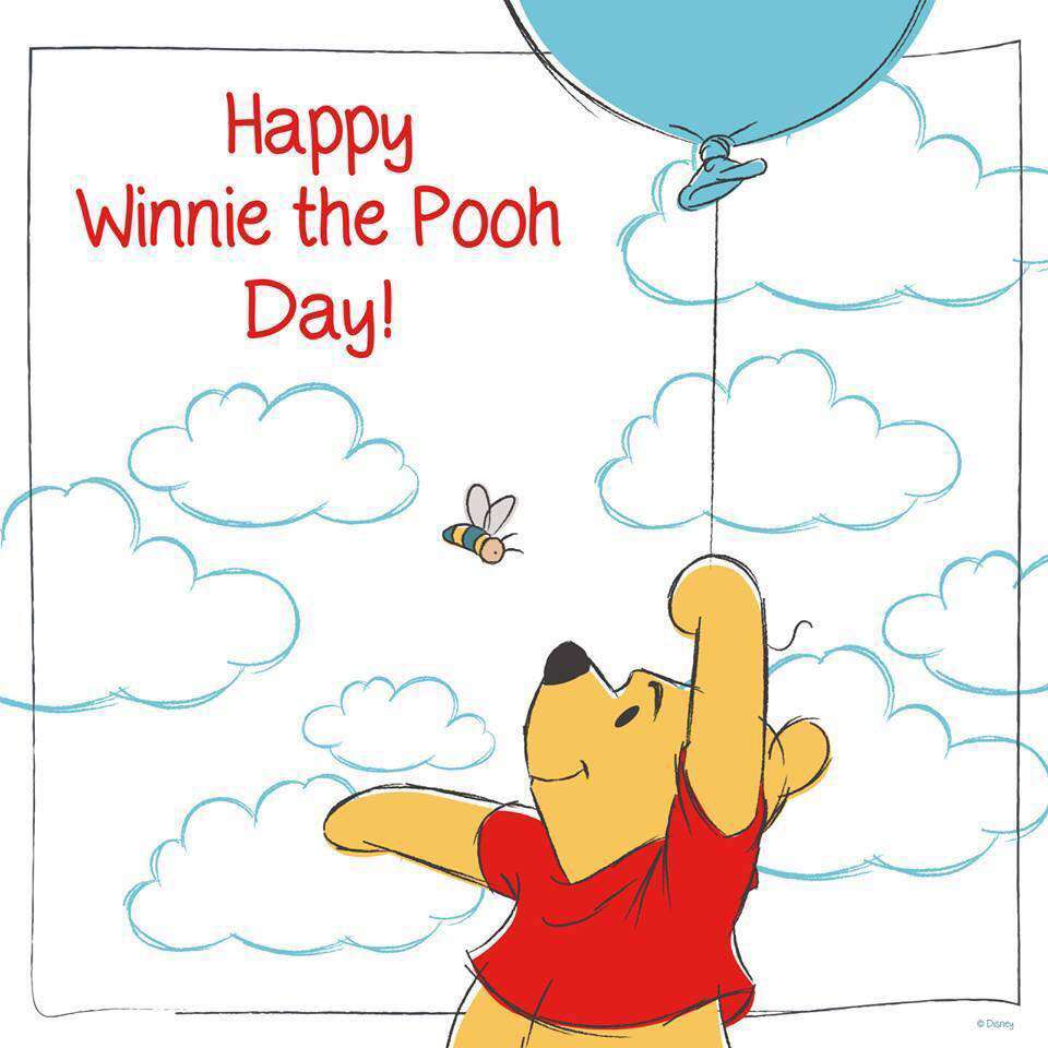 National Winnie the Pooh Day Wishes Images download