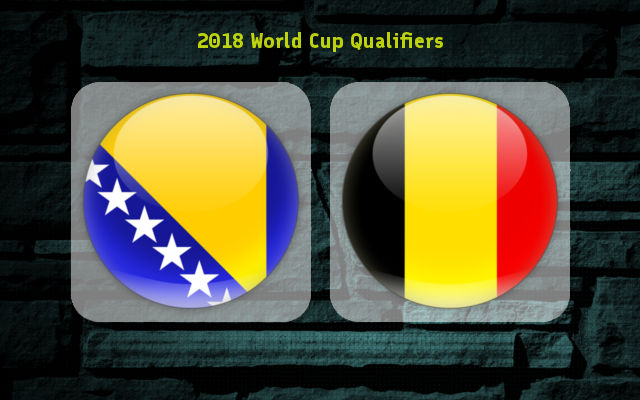 Bosnia-Herzegovina vs Belgium Full Match & Highlights 7 October 2017