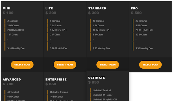 CSS Price Table