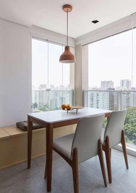 Inspirasi Ruang Makan Untuk Hunian Yang Memiliki Keterbatasan Ruang