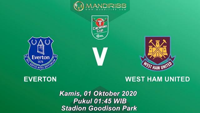 Prediksi Everton Vs West Ham United, Kamis 01 Oktober 2020 Pukul 01.45 WIB @ Mola TV