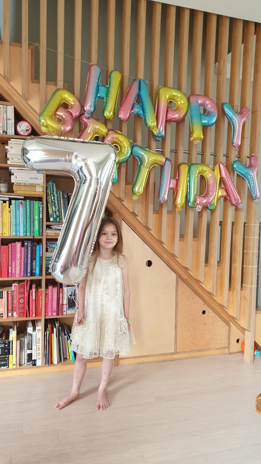 birthday balloons for seven year old