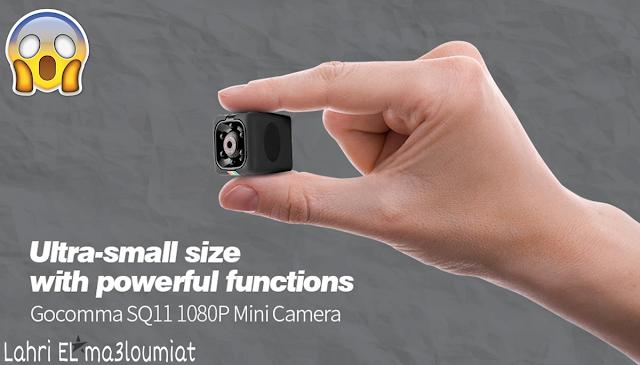 كاميرا Gocomma SQ11 1080P  بسعر رائع من Gearbest