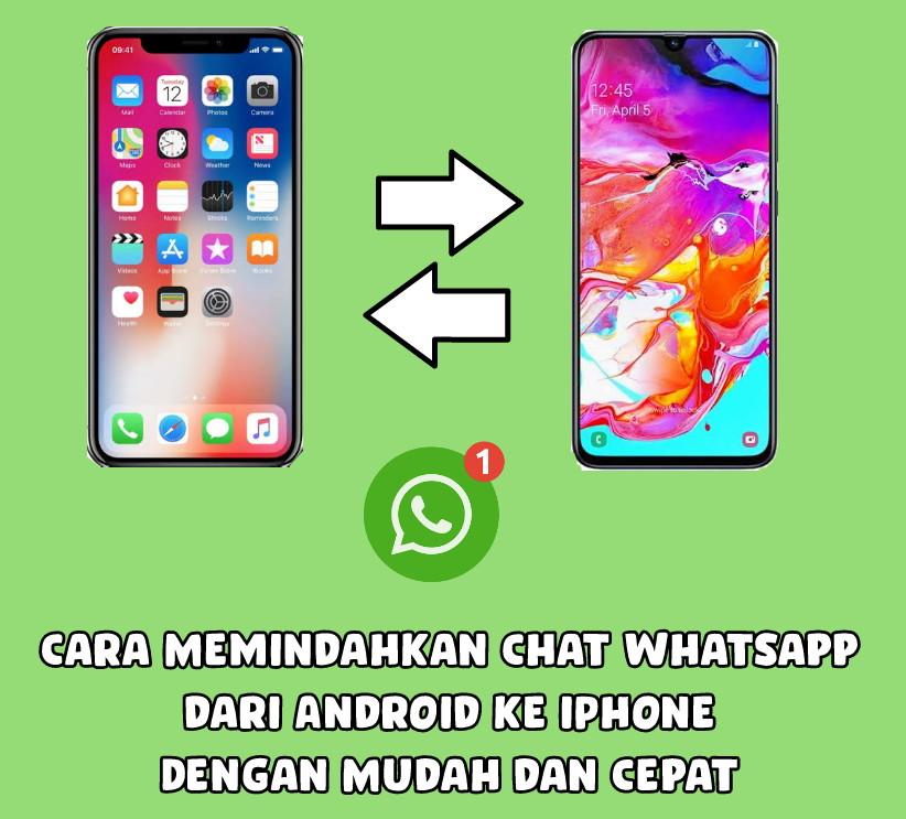 Cara Memindahkan Chat Whatsapp Dari Android Ke Iphone Dengan Mudah Dan Cepat