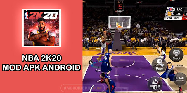 Download NBA 2k20 Mod Apk + OBB for Android | androidepic.com