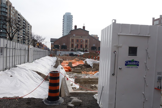 Two More Deep Holes 'Back in Time' Scheduled for Front Street E in Toronto