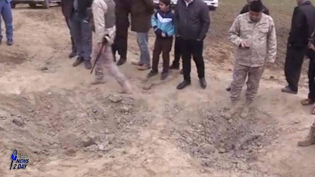 الاضرار التى سببتها صواريخ إيران بالعراق .. شاهد بالصور