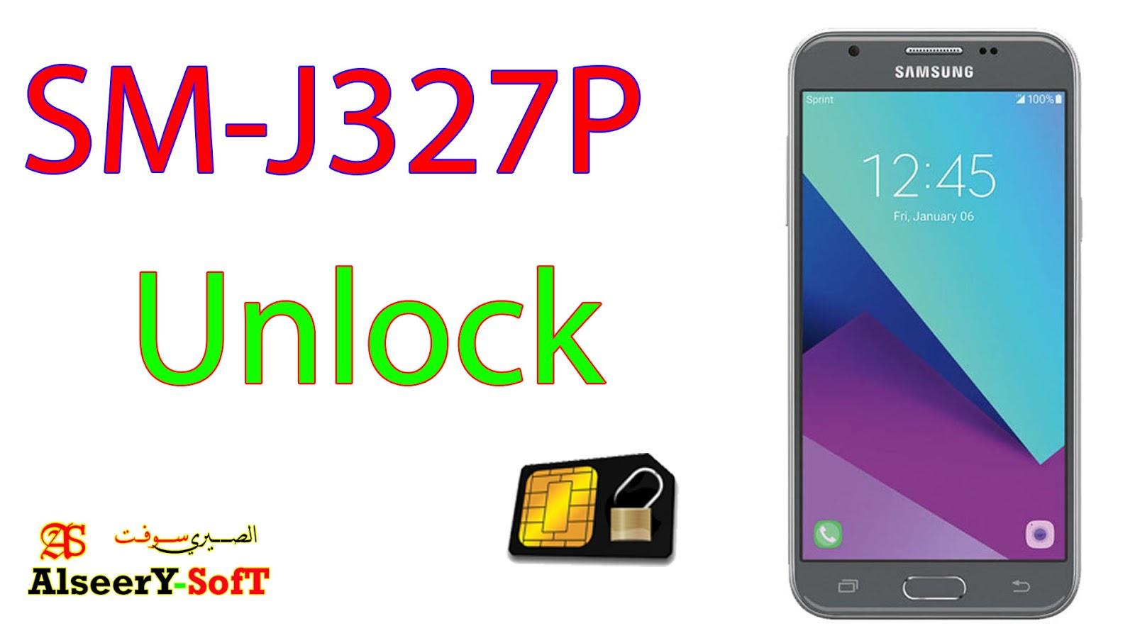Unlock SAMSUNG J3 SM-J327P U4 - AlseerY SofT