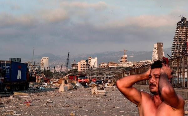 Hujan Darah Benar-benar Terjadi di Kota Beirut! Foto-Foto Ibukota Lebanon Pasca Ledakan!