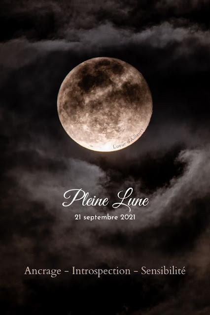 Pleine lune en poissons du 21 septembre 2021