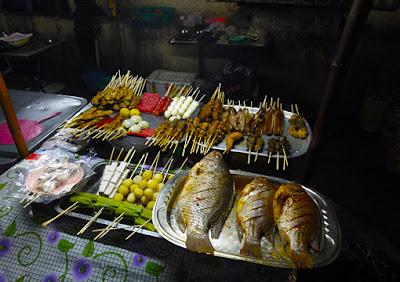 Theingyi Zay Market in Yangon Chinatown