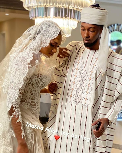 Important Dignitaries Seen In Attendance As Atiku And Ribadu's children Get Married In Abuja (Photos)