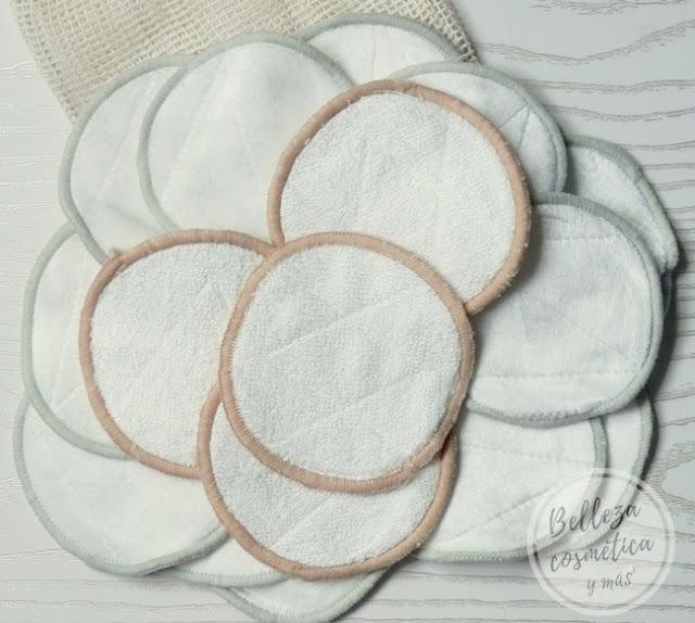 discos algodón reutilizables lavables opinion