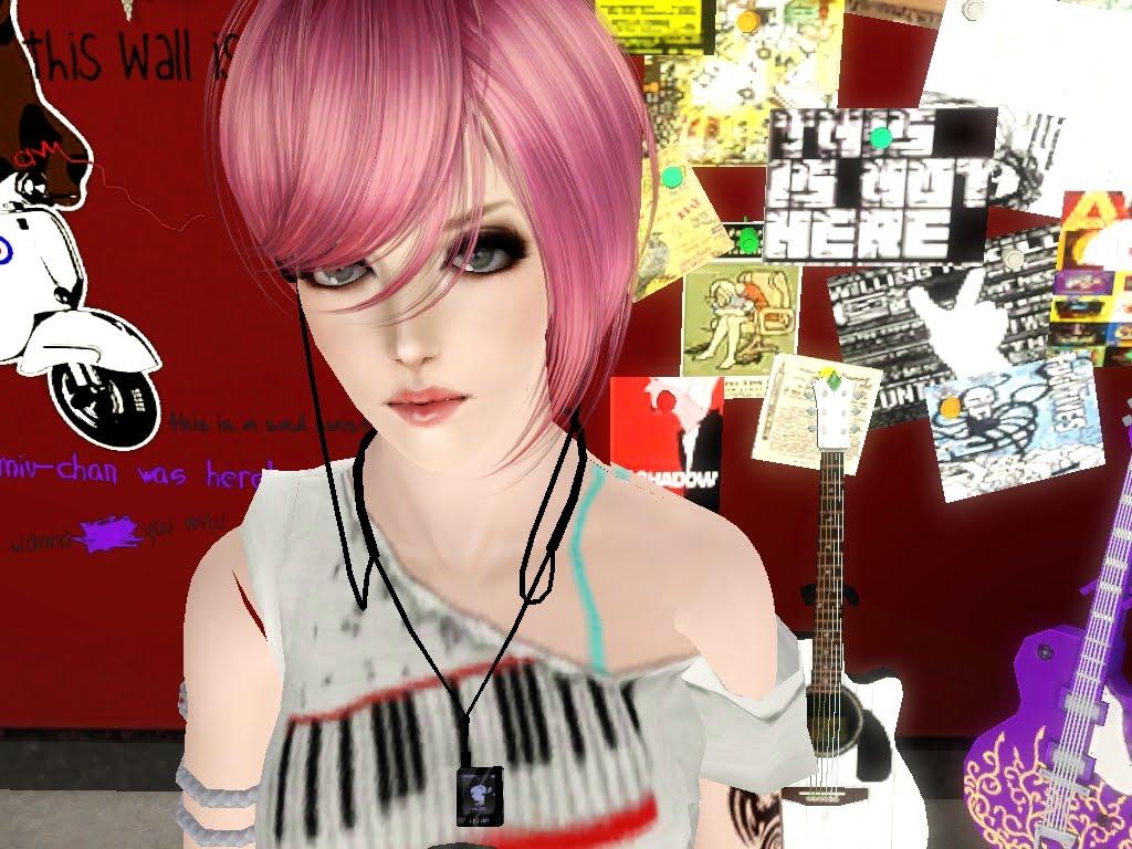 Punk Rock Girl - Iain Reed   move to js-sims.blogspot.com