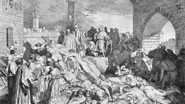 Veba (Kara Ölüm) Salgını Nasıl Yayıldı?