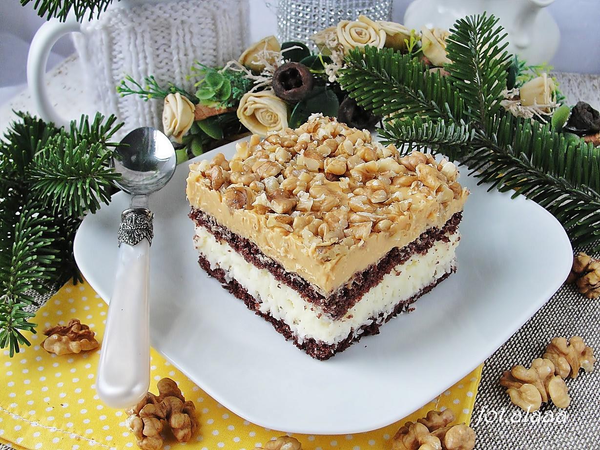 Ciasto Kokosowo Orzechowe Bloghub Pl