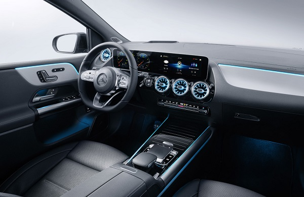 Interior Mercedes Benz Clase B