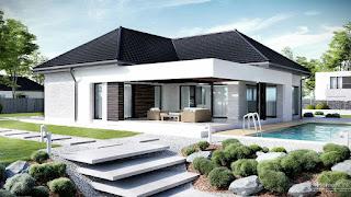 Bentuk Atap Rumah model Campuran