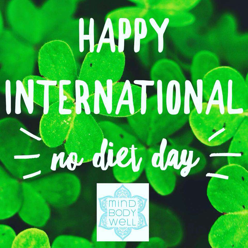 International No Diet Day Wishes Beautiful Image