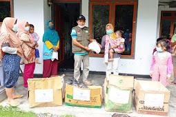 TPPI Lumajang Salurkan Bantuan untuk Korban Erupsi Gunung Semeru